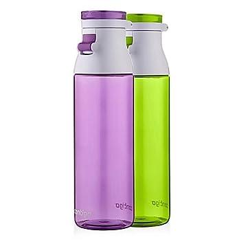 Contigo Jackson 24 oz con tapa superior con tapa antigoteo, sin BPA, se adapta