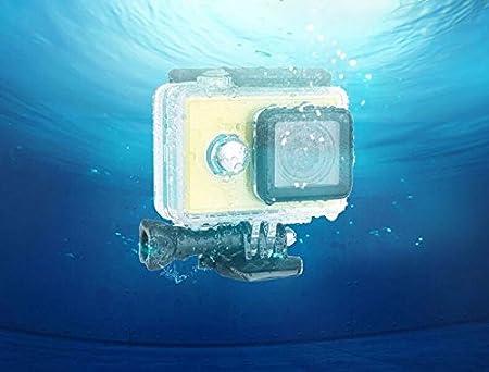 Rhodesy 41 in 1 Xiaomi Yi 4K//4K Action Camera 2 Protective Waterproof Housing Case Accessories Bundle for Xiaomi Yi 4K//4K