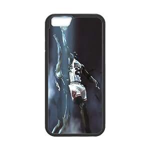"Unique Design -ZE-MIN PHONE CASE For Apple Iphone 6,4.7"" screen Cases -Love Basketball,MICHAEL JARDON Pattern 17"