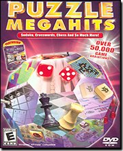 Puzzle MegaHits PC DVD-Rom Featuring Hoyle Puzzle and Board Games (Hoyle Puzzle And Board Games)