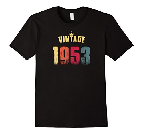 Vintage 1953 65th Birthday Gift tshirts for Men and Women