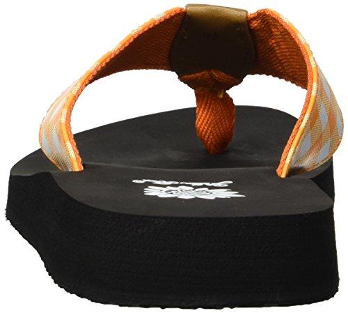 Jaune Box Ermyne Orange Sandal Femme xvqwwaXB