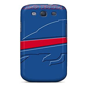 Bumper Hard Phone Covers For Samsung Galaxy S3 With Provide Private Custom Fashion Buffalo Bills Pictures MansourMurray