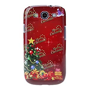 LZX Christmas Tree Back Case for Samsung Galaxy S3 I9300