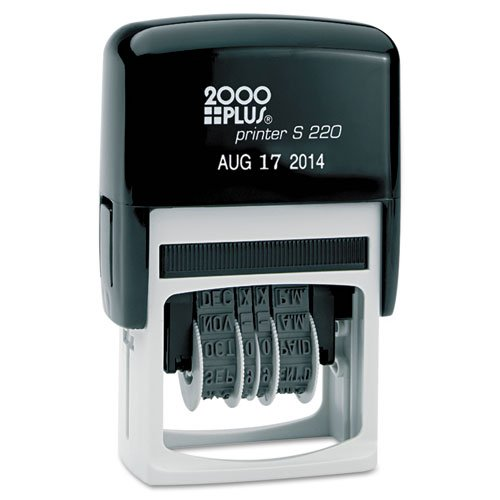 COSCO : Self-Inking Dater, 6-year Date Band, No messy Stamp -:- Sold as 1 EA