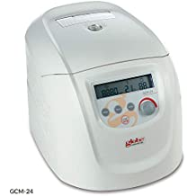 Globe Scientific GCM-24-UK High Speed Standard Micro centrifuge with UK Plug and 24-Place Rotor for 1.5/2.0mL MCTs, 24-Place, 230v, 50Hz
