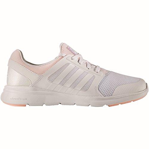 Adidas cloudfoam Xpression W, Baskets mode pour femme, blanc–(Ftwbla/Ftwbla/corneb) 382/3