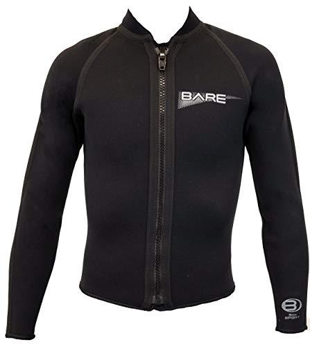 3mm Men's Bare Wetsuit Jacket Front Zip - - Wetsuits Wetsuit Bare