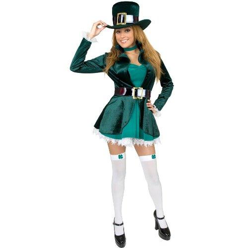 [Leprechaun Adult Costume - Plus Size 3X] (Leprechaun Costume Female)