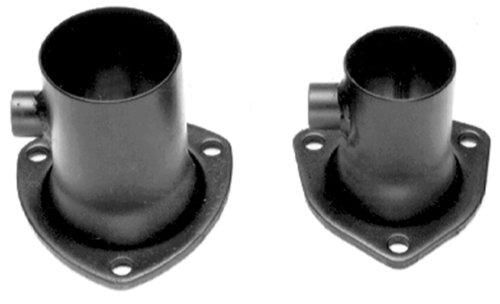 Hedman Hedders 21142 Oxygen Sensor Header Reducer 3 in. 3-Bolt Collector To 2.5 in. Exhaust O2 Sensor Reducer Sold Individually Oxygen Sensor Header Reducer -