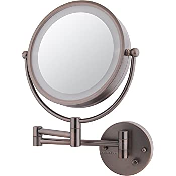 Amazon Com Ovente Dual Sided Wall Mounted Vanity Mirror 8