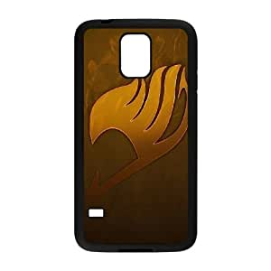 Protection Cover Knsmy Samsung Galaxy S5 I9600 Black Phone Case Fairy Tail Personalized Durable Cases