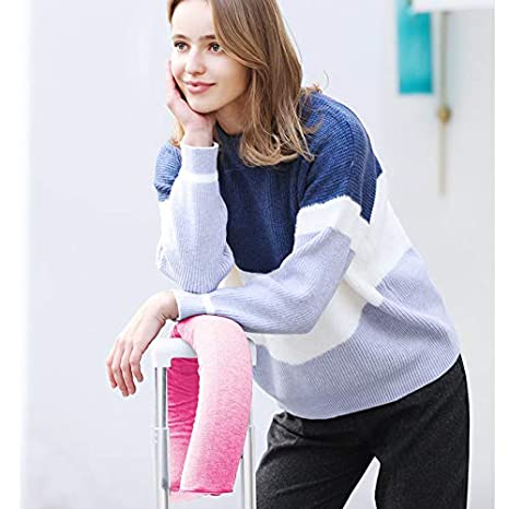 Amazon.com: Lucear Twist Memory Foam Travel Pillow Neck ...