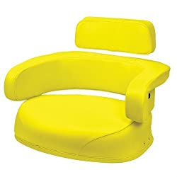 Seat 3-Piece Set Vinyl Yellow John Deere 4020 3020