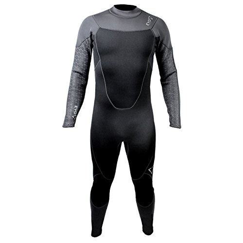 evo Elite Blaze 3mm Full Scuba Wetsuit (Men's) X-Large Black