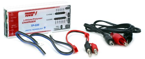 (Thunder Power RC TP535C 1-5 Cell LiPo, 0.5-3.5 Amp DC Charger with Communication Port for TP205/210V)