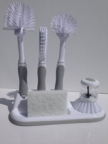 small long handled cleaning brush - 4