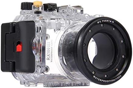 HSKB - Funda Impermeable para cámara Sony RX100 III (Sumergible a ...
