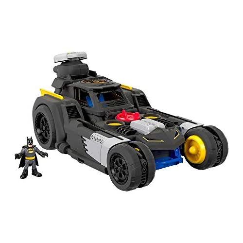 chollos oferta descuentos barato Imaginext Fisher Price Batmovil Transformable Mattel GMH33