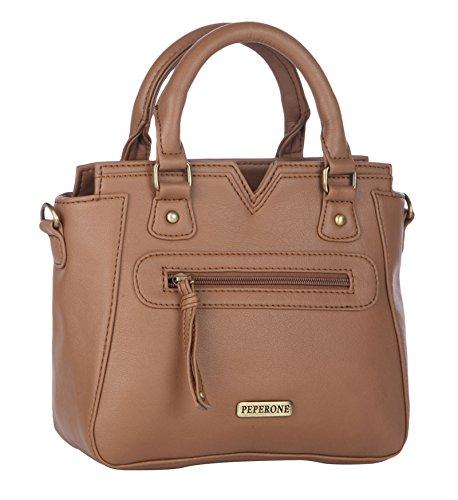 Peperone Purse Women`s Tote Bag Designer PU Leather Shoulder Handbag