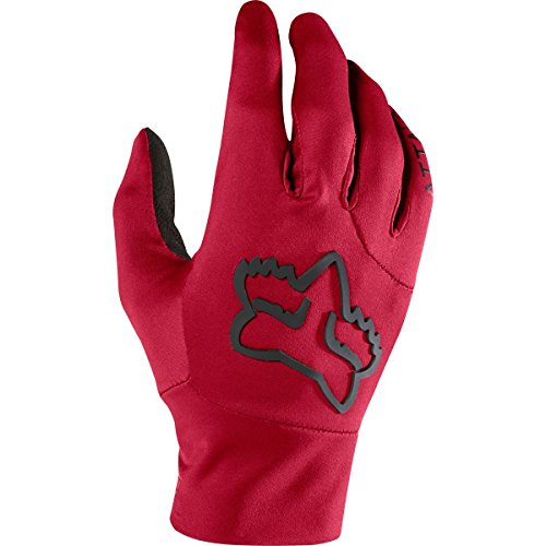 Fox Racing Attack Water Glove - Men's Dark Red, L Single Track Cycling Gloves