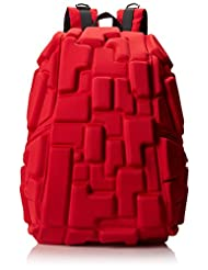 Mad Pax KZ24484209 Blok Full Backpack, Red, One Size