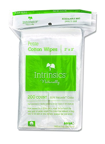 Organic Essentials Organic Cotton Rounds (Intrinsics Petite Cotton Wipes - 2