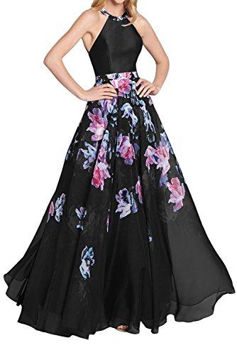Printed Beaded Dress - 9