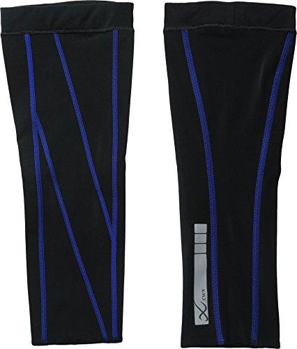 CW-X Stabilyx Calf Sleeve - Men's Black / Blue Medium