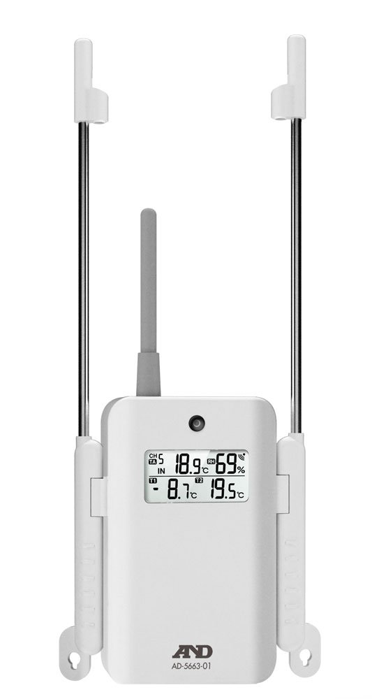 A&D マルチチャンネル温湿度計 AD-5663用増設子機 AD-5663-01 B00OTCC8K0