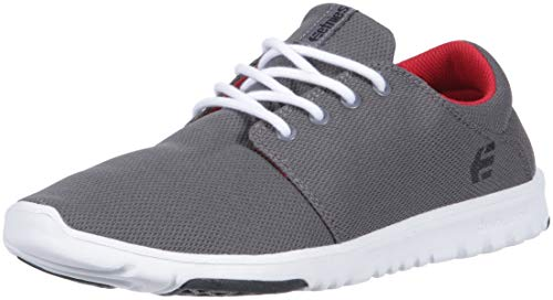 New Etnies Skateboarding Shoes - Etnies Men's Pioneer Skate Shoe, Grey, 8 Medium US