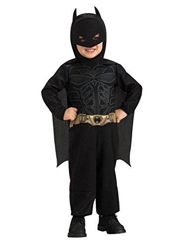 Rubie's Batman The Dark Knight Rises Toddler Batman Costume,Black, 1-2 Years