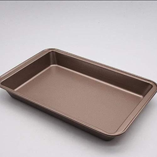 profectlen-US Non-Stick Brownie Pan with Divider Baking Pan Bread Cake Oven Baking Mold Tray