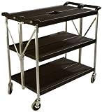 Carlisle SBC203103 Fold 'N Go Polyethylene Cart, 350 lb. Capacity, 40.00