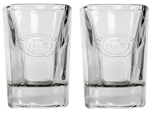 Jack Daniel's Shot Glass Set Old No 7 by Jack -