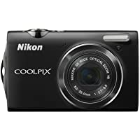 Nikon Coolpix S5100 12 MP Digital Camera with 5x Optical Vibration Reduction (VR) Zoom and 2.7-Inch LCD (Black) Basic Intro Review Image