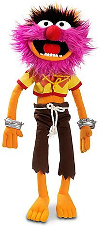 The Muppets Exclusive 17 Inch DELUXE Plush Figure Animal (Muppets Dolls)