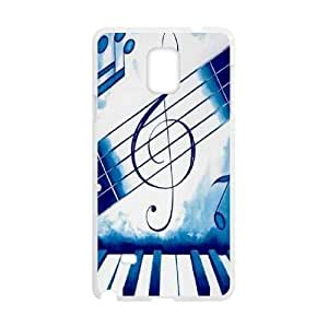 Custom Music Notes Phone Case for SamSung Galaxy note4, Music Notes Note4 Cell Phone Case, Personalized Music Notes Galaxy note4 Case