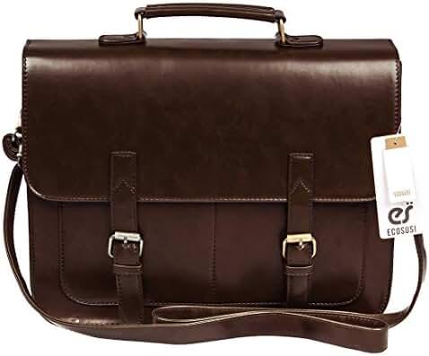 ECOSUSI Vintage Faux Leather 14