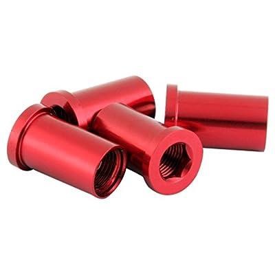 MSC Écrous alu 1 ou 2 plateaux+protecteur plateaux.4un