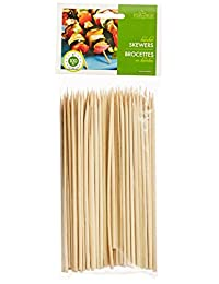 Fox Run 5476 Bamboo Skewers, 6-Inch, Pack of 100