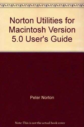 Norton Utilities for Macintosh Version 5.0 User