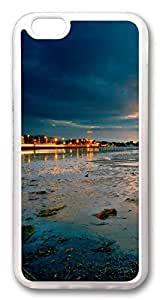 iphone 6 4.7inch Case and Cover Lake Sunset Landscape TPU Silicone Rubber Case Cover for iphone 6 4.7inch Transparent