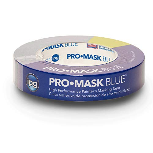 ": IPG ProMask Blue, 14-Day Painter's Tape, 0.94"" x 60 yd, Blue, (Single Roll)"