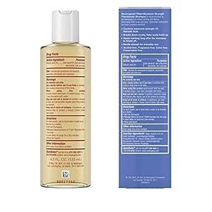 Neutrogena T/Sal Shampoo, Scalp Build-up Control, 4.5 fl oz