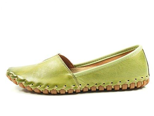Zapatos Para Grün Gemini Cuero Mujer de 02 031203 wCx4xqAE