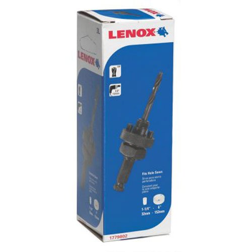 Arbor Pilot Drill - Lenox Tools 1779802 3L Arbor with 3-1/4-Inch Pilot Drill Bit for Hole Saws