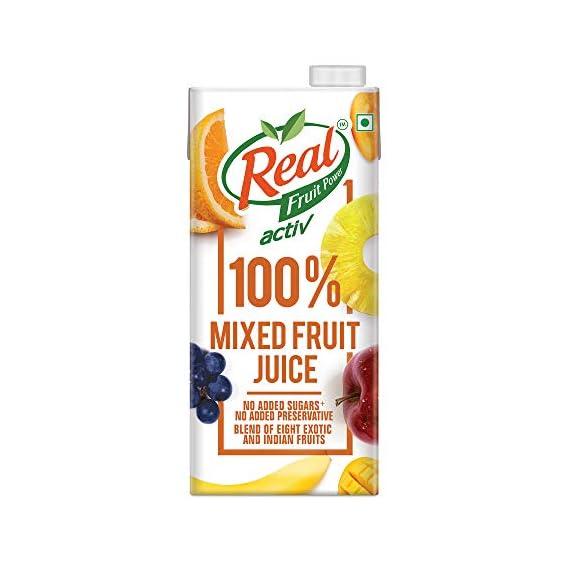Real Activ 100% Mixed Fruit Juice - 1L