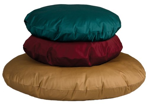MidWest Quiet Time e'Sensuals Polyfill Pillow Pet Bed 34 Inch Round in Hunter Green