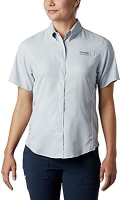 Columbia TamiamiTM II S Camisa para Mujer, Mujer, 1275711, Cirrus Grey, Small: Amazon.es: Deportes y aire libre